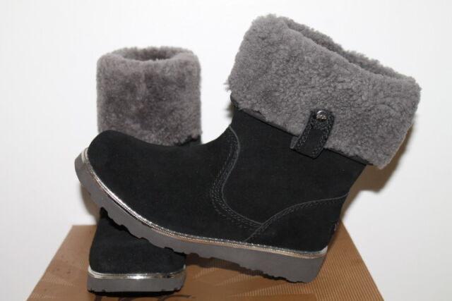 0da70e49ed7 UGG Australia K Callie Black BOOTS Girls Youth Size 6