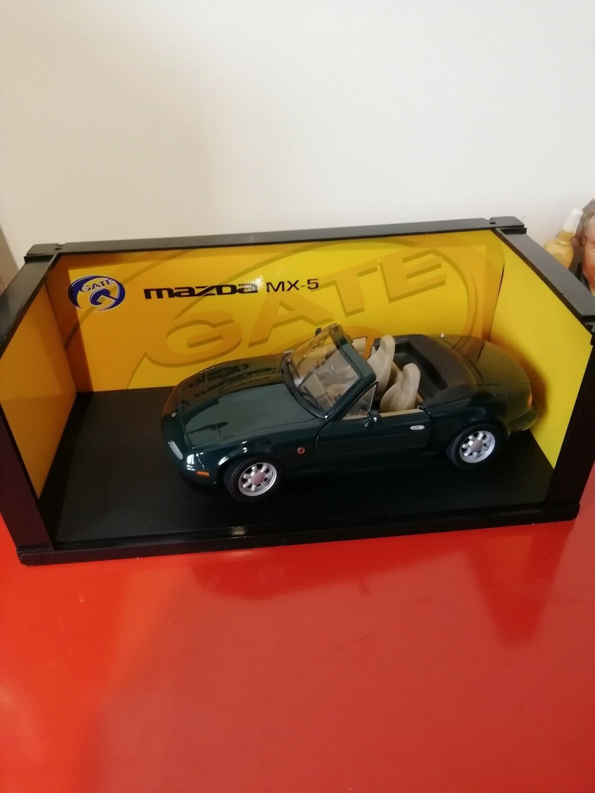 Gate 1 18 Mazda Mx-5 RHD Grün rare model