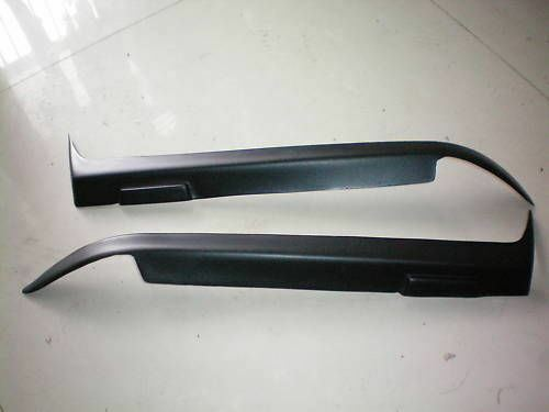 Black eyelids eyelid eyebrow headlight covers Fits 1991-1998 BMW E36