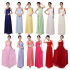 Sexy Womens Long Formal Bridesmaid Prom Dress Wedding Party Dresses Evening Gown