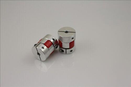 BF 8mm x 14mm CNC Flexible Plum Coupling Shaft Coupler D30 L42
