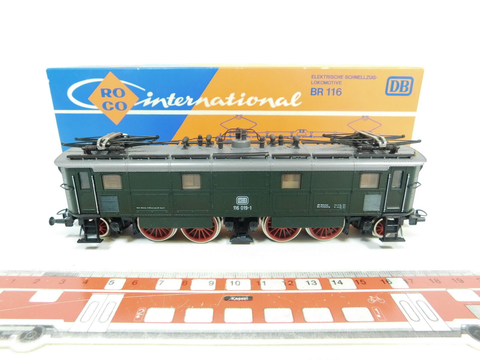 Bd160 -1 Roco H0  DC 4143 Electric Locomotive  E -LOCOMOOTIVE 116 019 -1 dB,