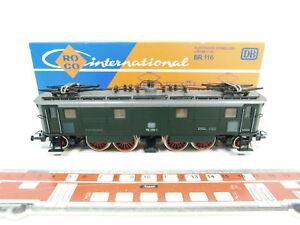 BD160-1-Roco-H0-DC-4143-E-Lok-E-Lokomotive-116-019-1-DB-Steckpuffer-fehlt-OVP