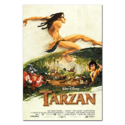 High Quality Prints Disney Animation Film Tarzan Movie Poster