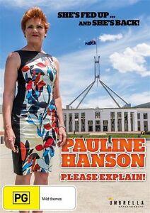 Pauline-Hanson-Please-Explain-DVD-NEW-Region-4-Australia