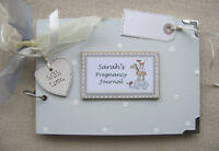 personalised pregnancy journal. A5 size.. scrapbook/photo album