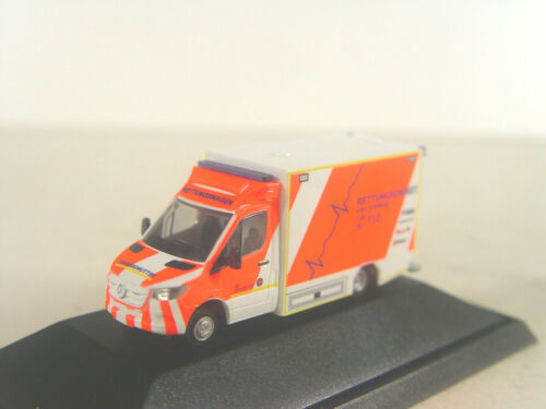 Camión de rescate ponte Oldenburg-Rietze ho 1:87 modelo 76225 # e
