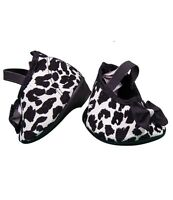 "Leopard print shoes with heels / Teddy Shoes fits 15"" Build a Bear"
