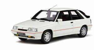 OTTO-MOBILE-319-RENAULT-11-TURBO-Ph2-resin-model-car-white-Ltd-Ed-1987-1-18th