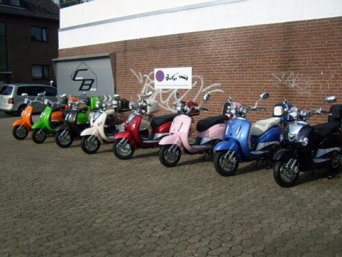 150ccm Motorroller Retro ZNEN 1 x Rückspiegel rechts Verchromt Roller 50ccm