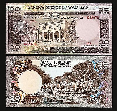 Kenya 20 Shillings,1 Jan 1981 Unc P-21a Prefix D 8
