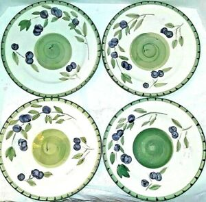Tabletops-Unlimited-Olive-Garden-Hand-Painted-Collection-4-Dinner-Plates