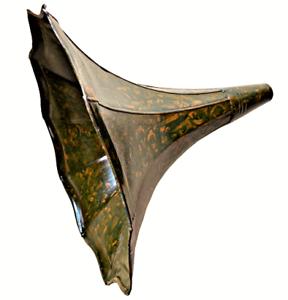 Antique-Solid-Metal-HMV-Original-Horn-For-Phonograph-Old-Gramophone-Decor-HN-05