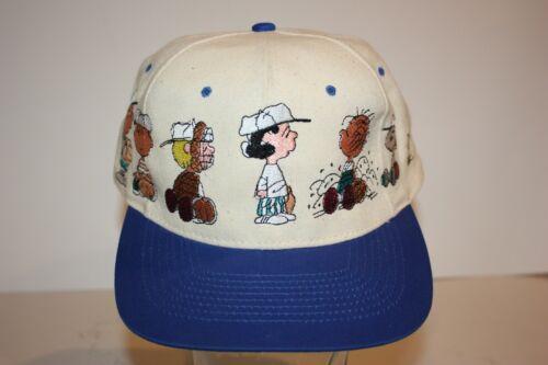 Vtg 90s Peanuts Gang Head Start Hat Baseball Cap S