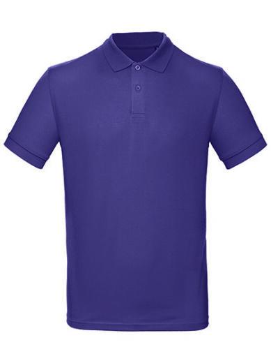 Homme Pique Shirt Polo Bio Coton Polo à Manches Courtes