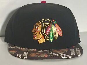 2d3a9efda Image is loading Chicago-Blackhawks-NHL-Hockey-Team-Embroidered-New-Era-