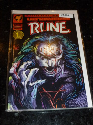 No 4 Vol 1 Date 06//1994 Malibu Comics RUNE Comic