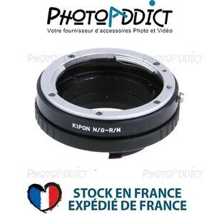KIPON-NIKG-RM-Bague-d-039-adaptation-objectif-Nikon-G-vers-boitier-Ricoh-M