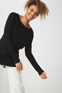 Cotton On Womens Archy 4 Pullover Knit