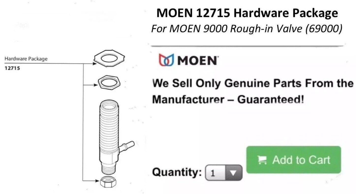 Moen 12715 Replacement Part