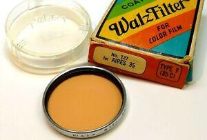 Walz-127-85C-Lens-Filter-Type-F-43mm-threaded-3200-K-Tungsten-balanced