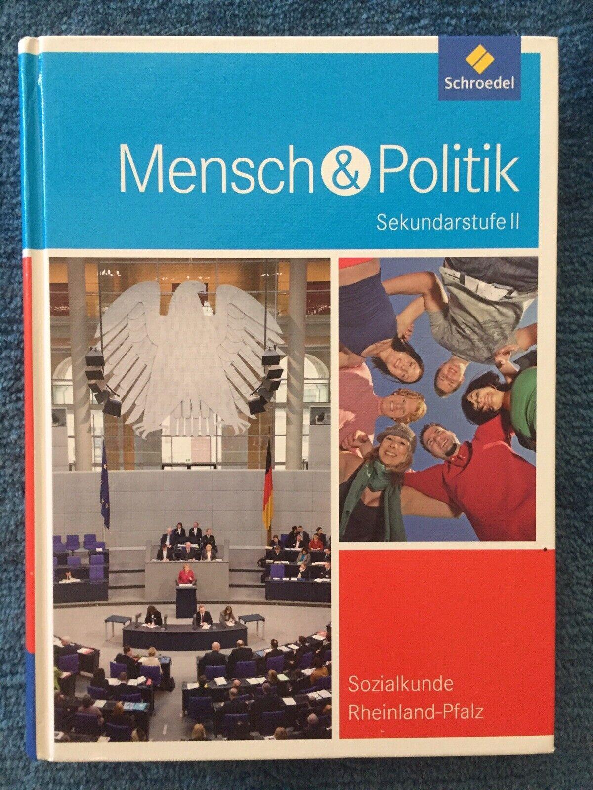 Mensch & Politik, SEK II, RLP, 9783507108974, Wie Neu!