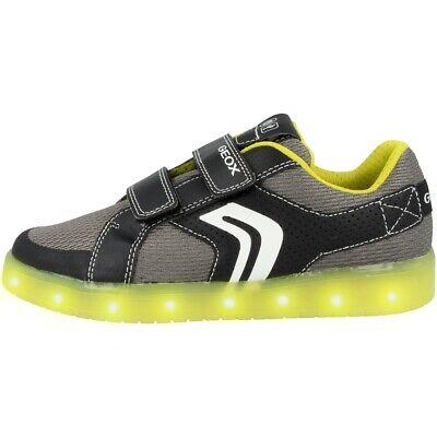 GEOX J Kommodor B. A Junior Schuhe LED Kinder Sport Sneaker