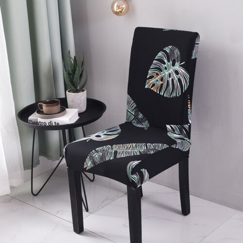 2//4pcs Spandex Chair Covers Slipcover Room Wedding Birthday Party Home Decor UK