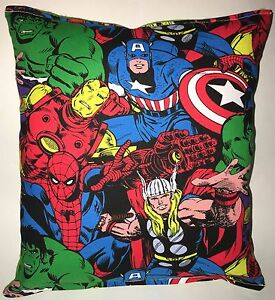 Marvel-Pillow-Hulk-Iron-man-Captain-America-Spider-Man-Avengers-Pillow