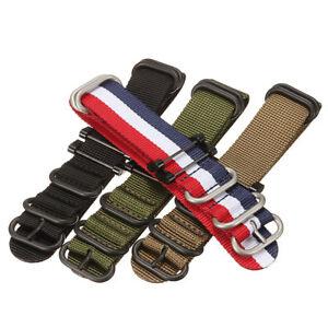 Nylon-Wrist-Band-Strap-Bracelet-Replacement-For-Suunto-Essential-Core-Traverse