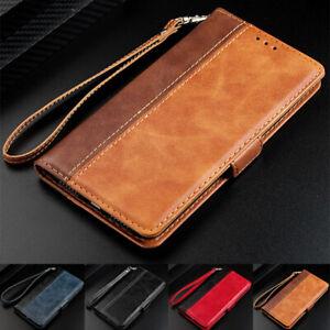 Pour-Samsung-Galaxy-S10-S8-S9-PLUS-Note-8-9-de-Luxe-Flip-Portefeuille-en-Cuir-Case-Cover