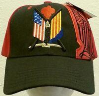 U.s.a. South Viet Nam Vietnam Flag War Era Veteran Vet Campaign Service Cap Hat
