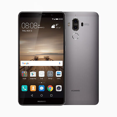"New Imported Huawei Mate 9 Dual Sim 64GB 4GB 5.9"" 20MP+12MP 8MP Space Grey"