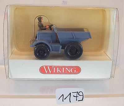 Wiking 1/87 N. 868 01 20 Classica Auto-eine Grigio Ovp #1179-mostra Il Titolo Originale