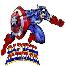 Captain America # 10-8 x 10 Tee Shirt Iron On Transfer