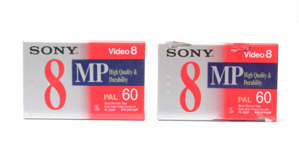 2 X Sony8 Mp High Quality & Durability Video 8 Kassette Pal60 Verschweißt Nr.323 Exquisite Traditional Embroidery Art