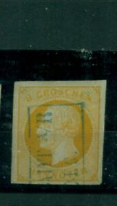 Hannover, George V. N. 16 a timbrato