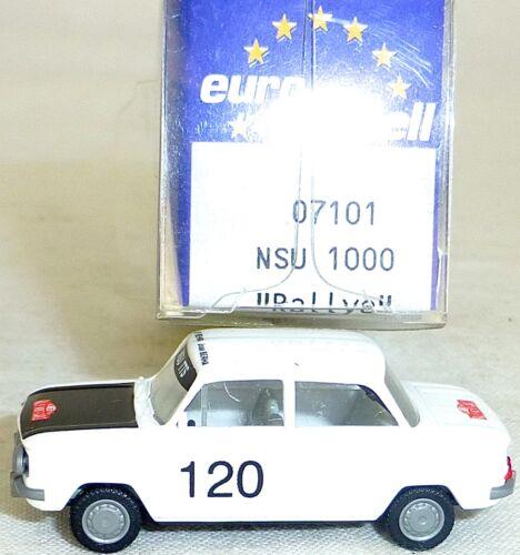 NSU 1000 príncipe TTS Rally de Monte-Carlo IMU//euro modelo 07101 h0 1//87 OVP # gb 5 Å