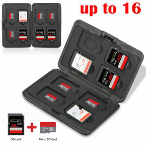 Aluminum-Memory-Card-Wallet-16-Micro-SD-SDHC-Protecter-Storage-Holder-Pouch-Case