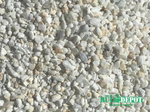 White Gravel 40 LBS MIGHTY109 Dolomite Pea Gravel Decorative Gravel Stone