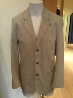 Camel Active Men's Jacket Size 38/R BNWT Beige Buttoned RRP £145 Now £58