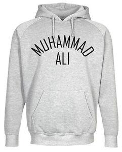 muhammad ali mens hoodie sweatshirt boxing rocky balboa. Black Bedroom Furniture Sets. Home Design Ideas