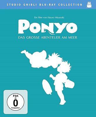 Blu-ray Ponyo - Das grosse Abenteuer am Meer (Studio Ghibli Collection) NEU OVP
