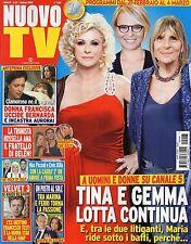 Nuovo Tv 2016 8#Gemma Galgani, Tina Cipollari, Maria De Filippi,Raffaella Fico,q