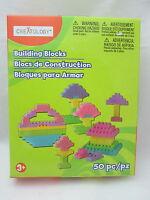 Creatology 50 Piece Building Blosck Set - Pastel Colors