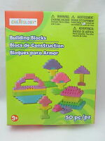 Creatology 50 Piece Building Blosck Set - Pastel Colors