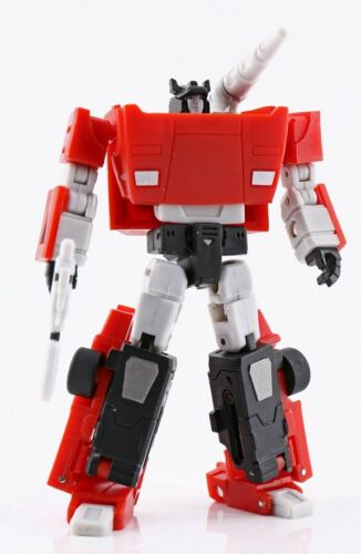 New MS TOYS Transformers MS-B07 Mini Red Cannonr Sideswipe Figure In Stock