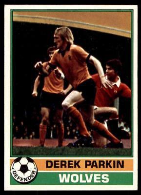 TOPPS-FOOTBALL RED BACK 1977 -#293- WOLVES DEREK PARKIN