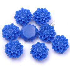 20Pcs Resin Flower Flatback Scrapbooking DIY Phone /Craft U Pick Color