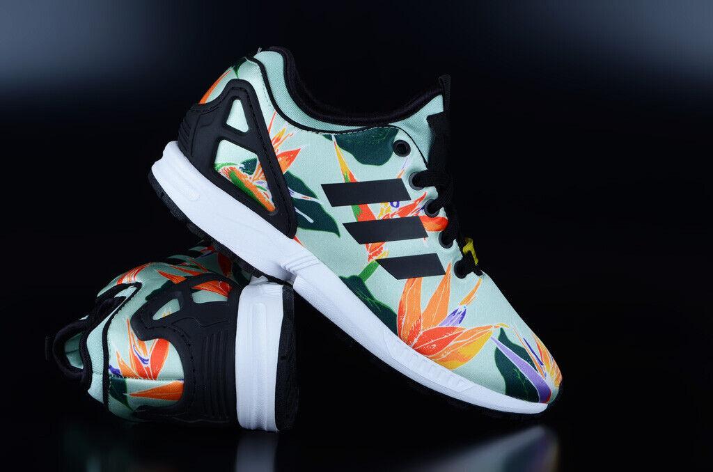 Adidas Originals ZX Flux NPS verde negro amarillo cortos zapatos zapatillas